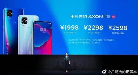 ZTE Axon 11 SE 5G