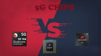 Snapdragon 768G vs Kirin 820 vs Dimensity 820