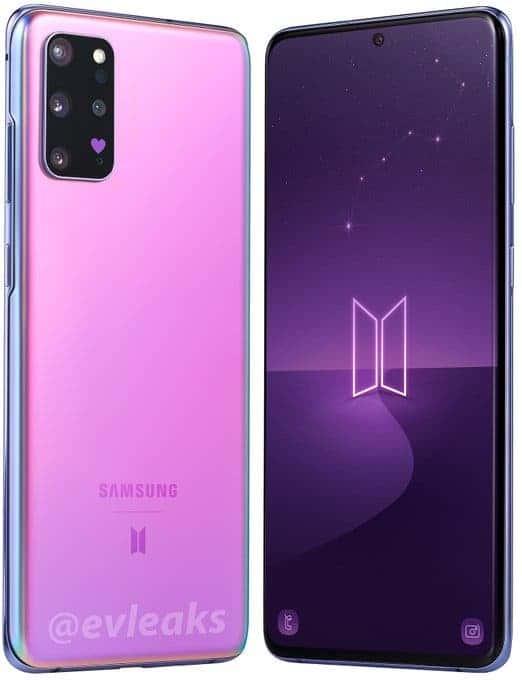 Samsung Galaxy S20+ BTS edition photos leak online ...