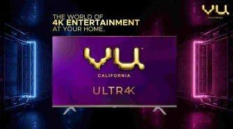 vu 4k smart tv