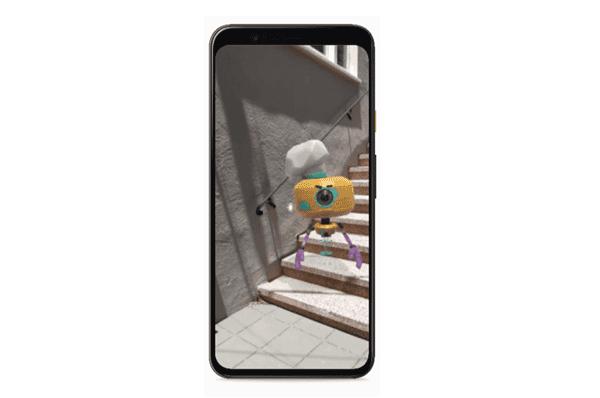 Google AR single camera