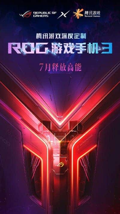 Asus ROG Phone 3 with Tencent Games
