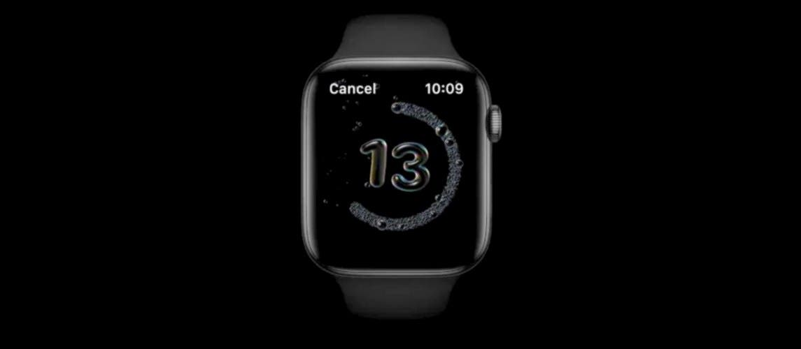 Apple has developed watchOS 7 hand-washing detection function many years ago