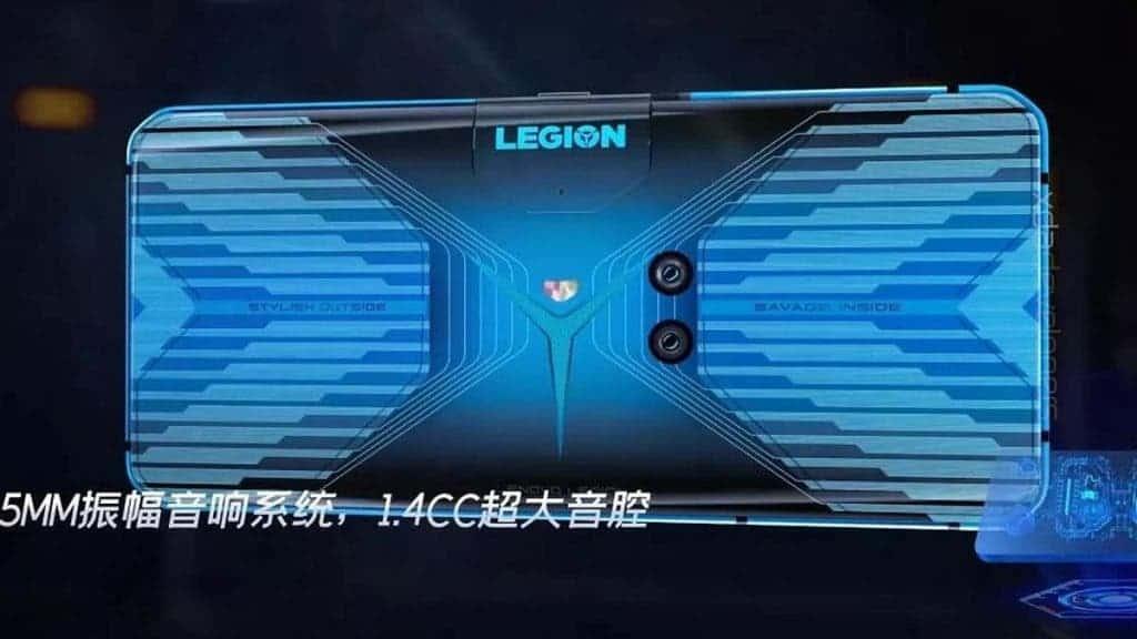 Lenovo Legion AnTuTu score has appeared! - Gizchina.com