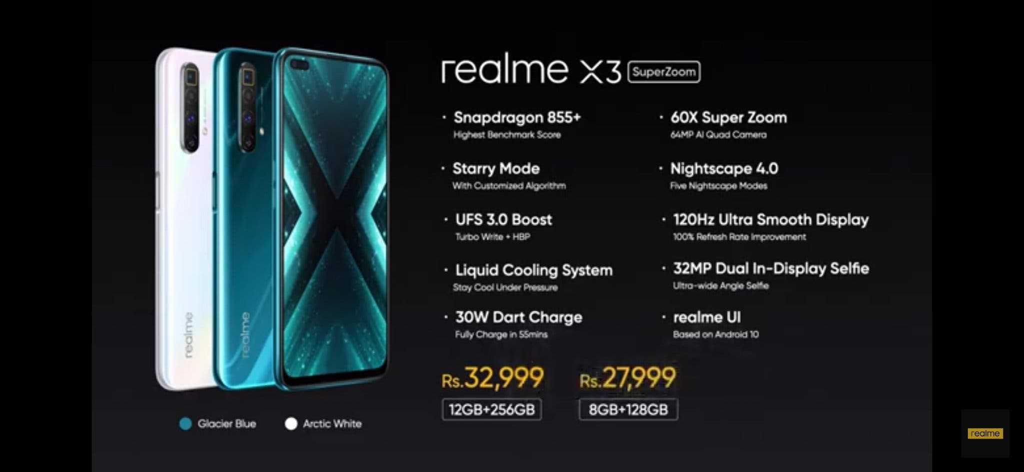 realme x3 prices