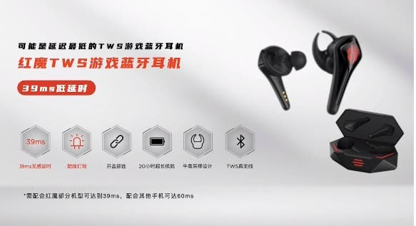 Red Magic TWS Gaming Bluetooth Headset