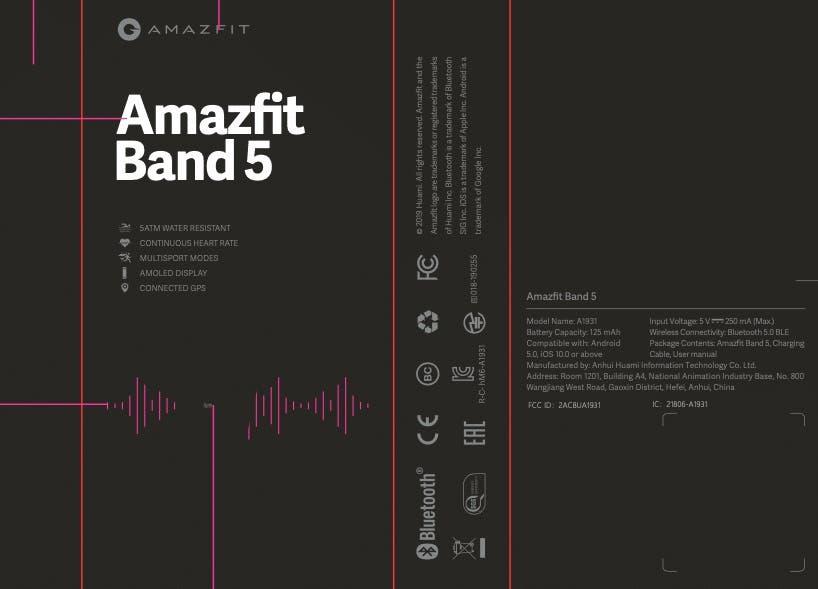 Amazfit Band 5 (Mi Band 5)