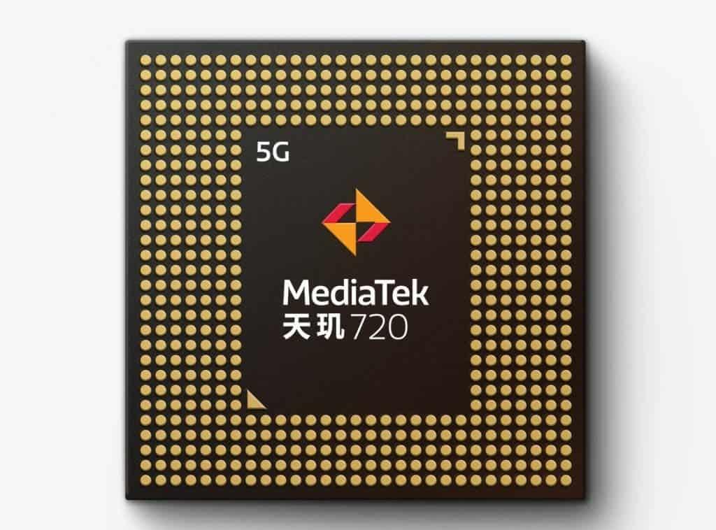 Dimensity 720 5G SoC