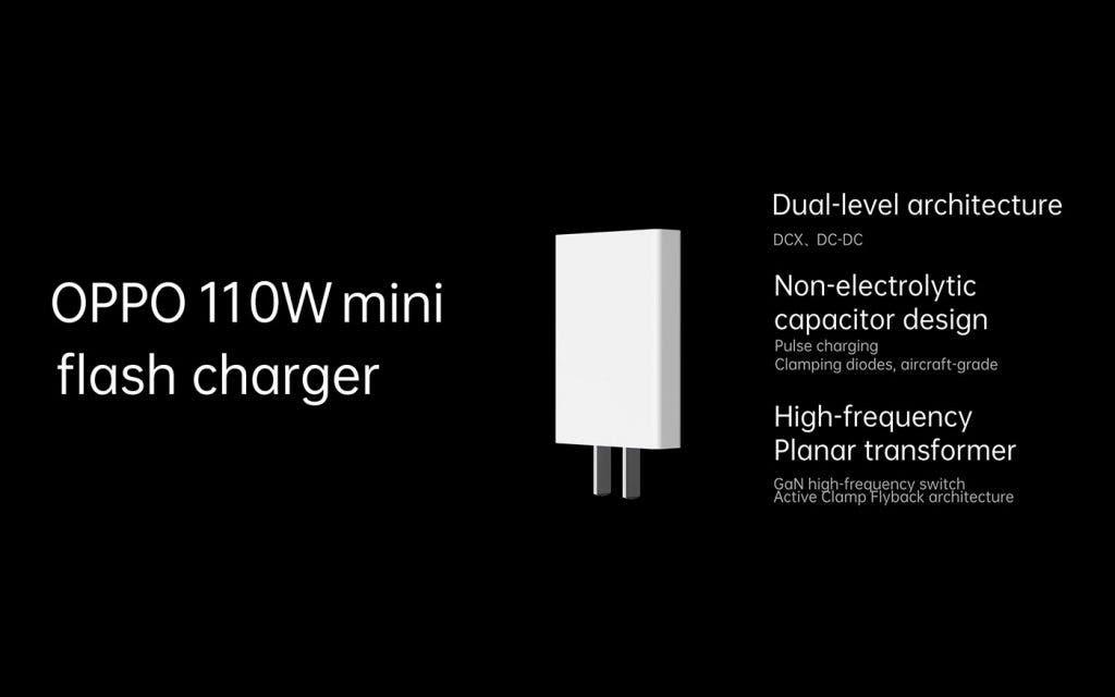 OPPO 110W super flash mini charger