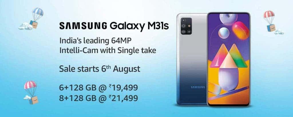 Galaxy M31s India price