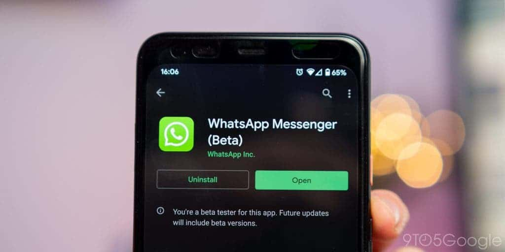 WhatsApp in-app purchases