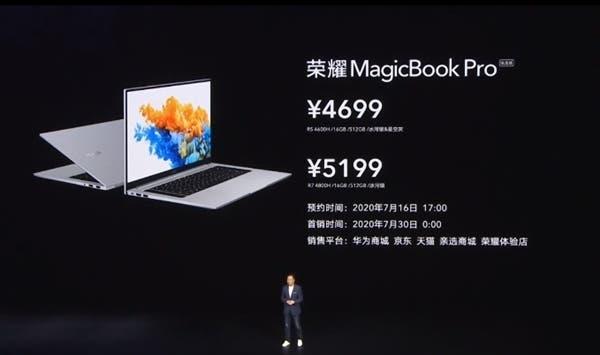 Honor MagicBook Pro Ryzen Edition