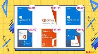 u2key Summer Sales: Windows 10 Pro Office 2016 Pro
