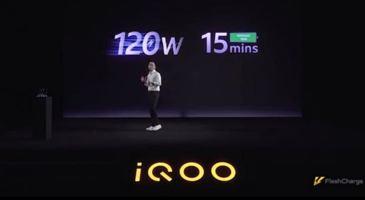IQOO Unveils 120W Fast Charging Technology, New Phone Expected in August
