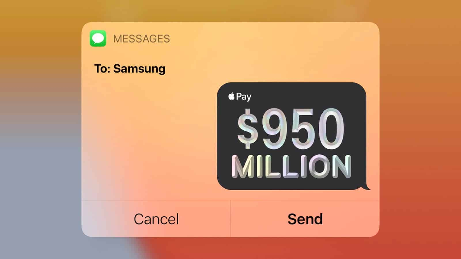 Apple paid Samsung nearly $1 billion penalty, here's why