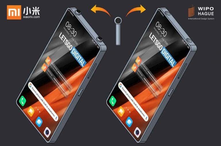 Xiaomi запатентовала смартфон с отверстиями для хранения беспроводных наушников