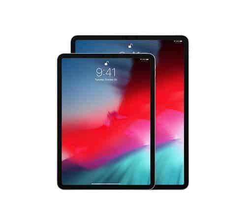 iPad Pro with mini led screens