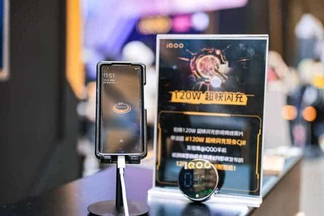 120W ultra-fast flash charging technology