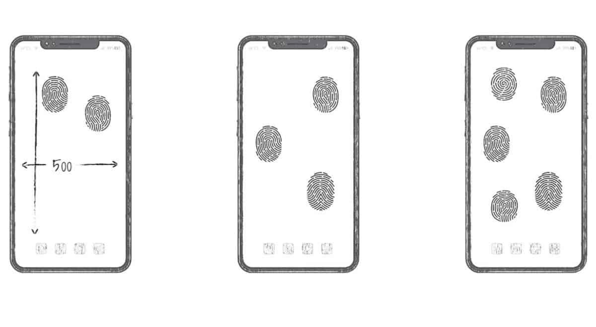 full-screen fingerprint recognition