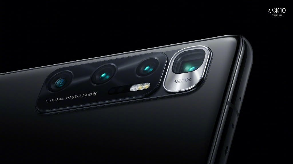 Empat kamera belakang Mi 10 Ultra.