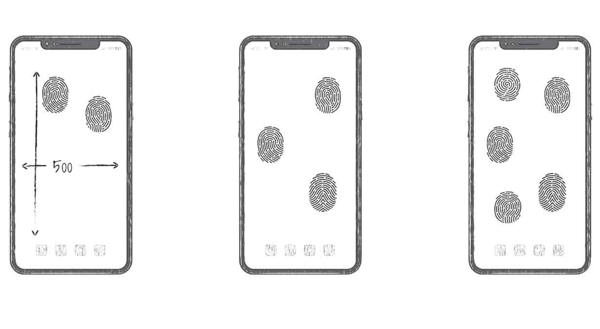 Huawei submits an all-screen on-display fingerprint unlocking patent - Gizchina.com
