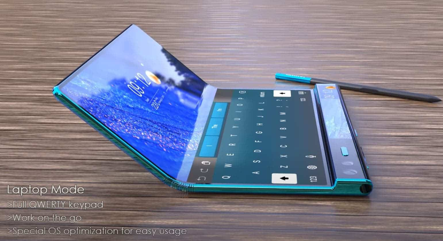 The first renders of the upcoming Huawei Mate X2 have appeared - Gizchina.com