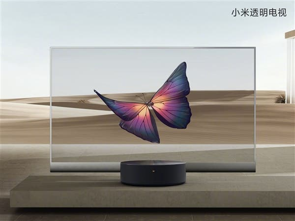 Xiaomi launches Mi TV LUX OLED transparent edition smart TV
