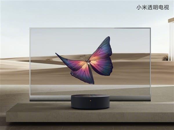Xiaomi unveils transparent OLED TV