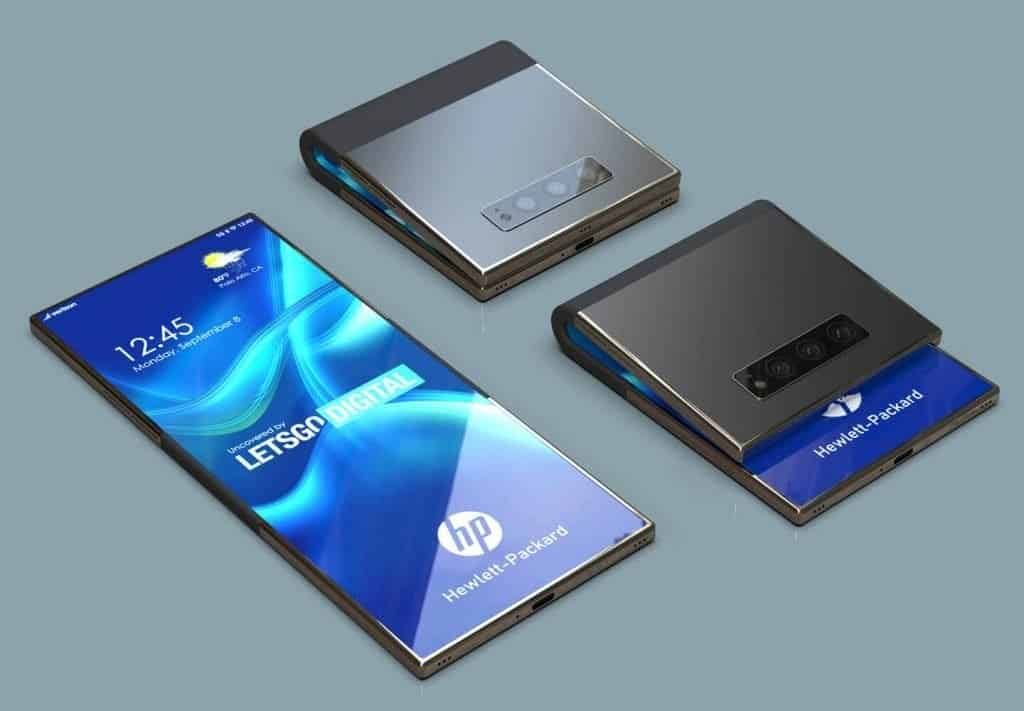 HP Foldable Phone