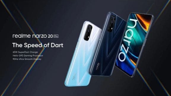 Смартфоны серии Realme Narzo 20