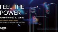 Realme Narzo 20 series smartphones