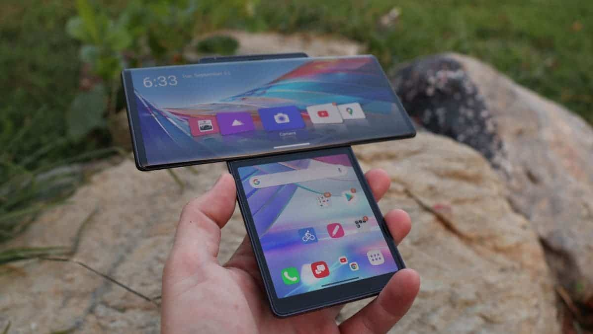 LG Wing in the global smartphone market