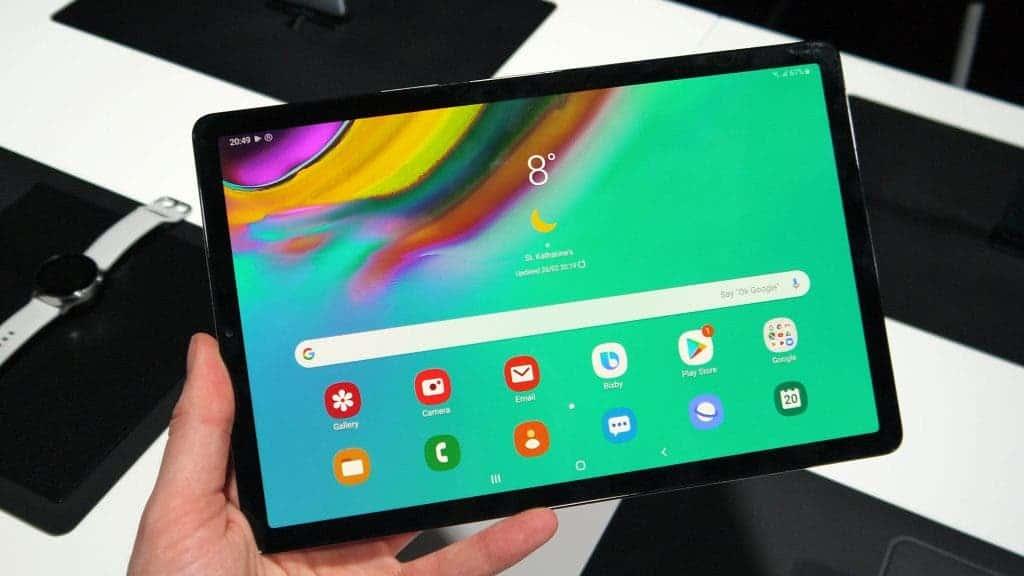 Galaxy Tab S5e starts to receive the latest One UI 2.5 update! - Gizchina.com