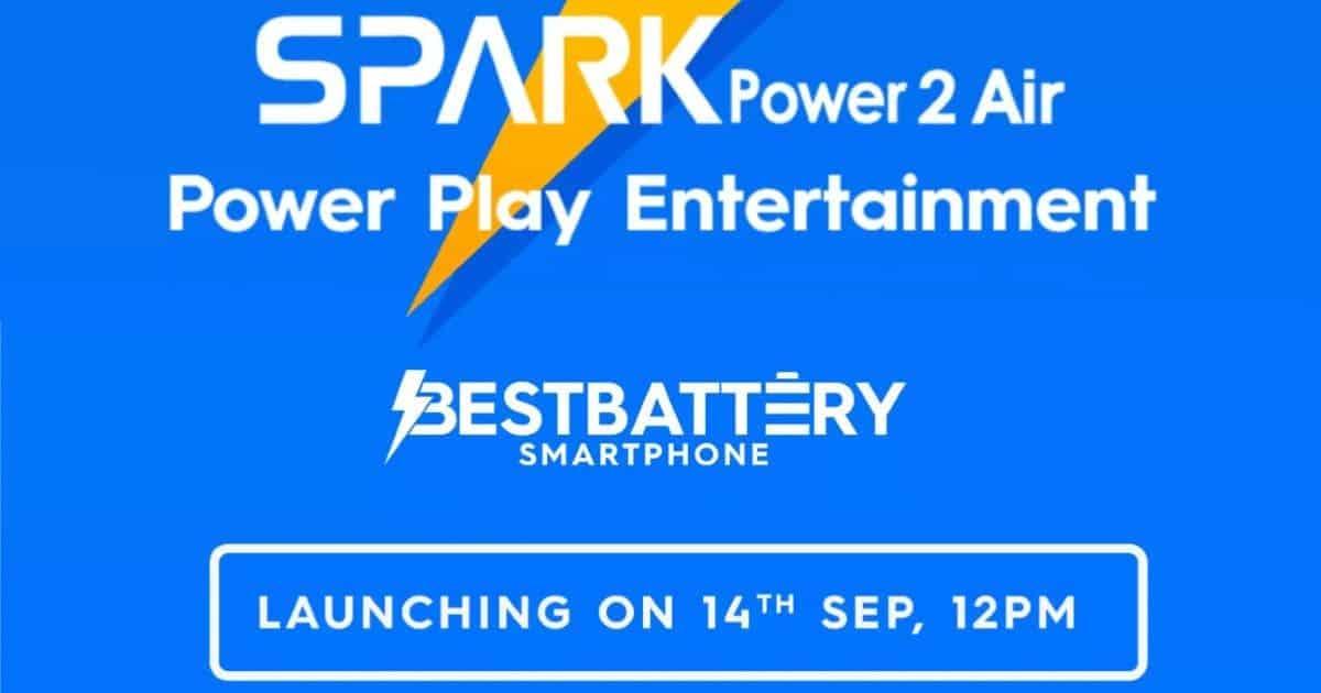 tecno spark power air 2