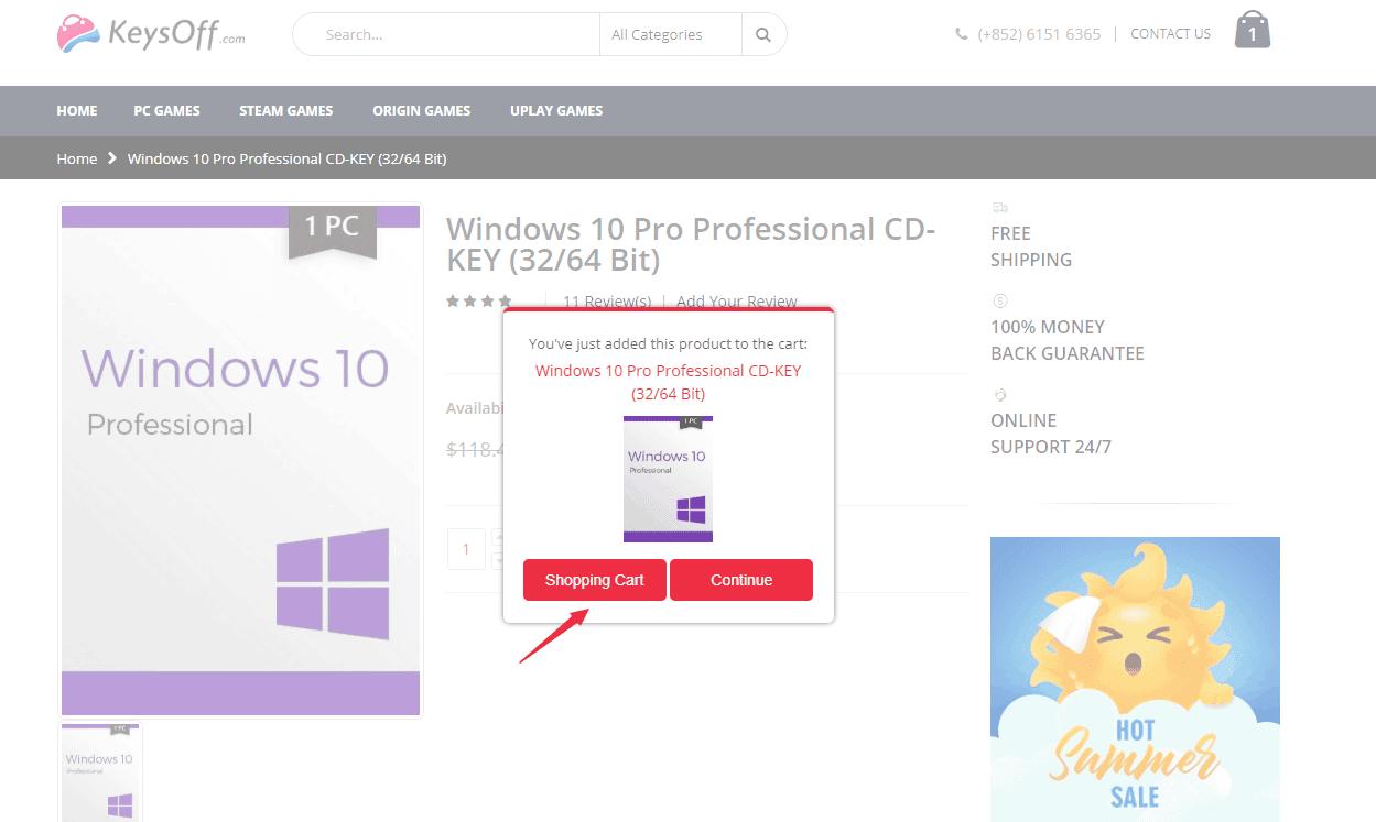 Windows 10 Pro $8.34 & Office 2016 Pro $22.31