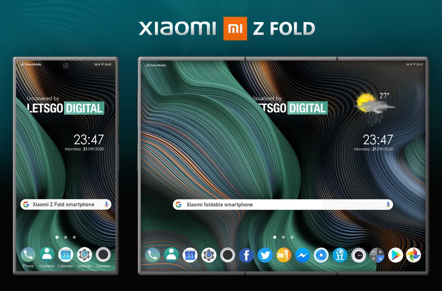 Xiaomi patent shows a foldable phone with a Z Fold design - Gizchina.com