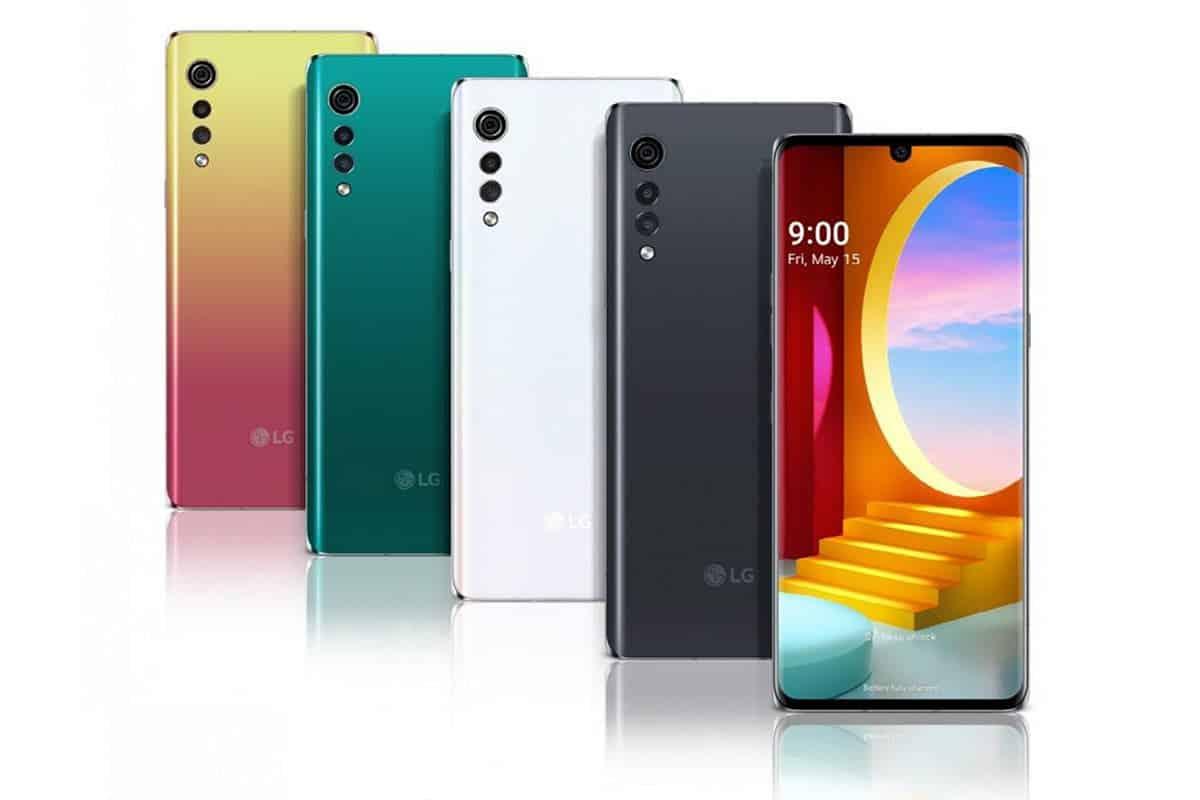 LG Velvet in the global smartphone market