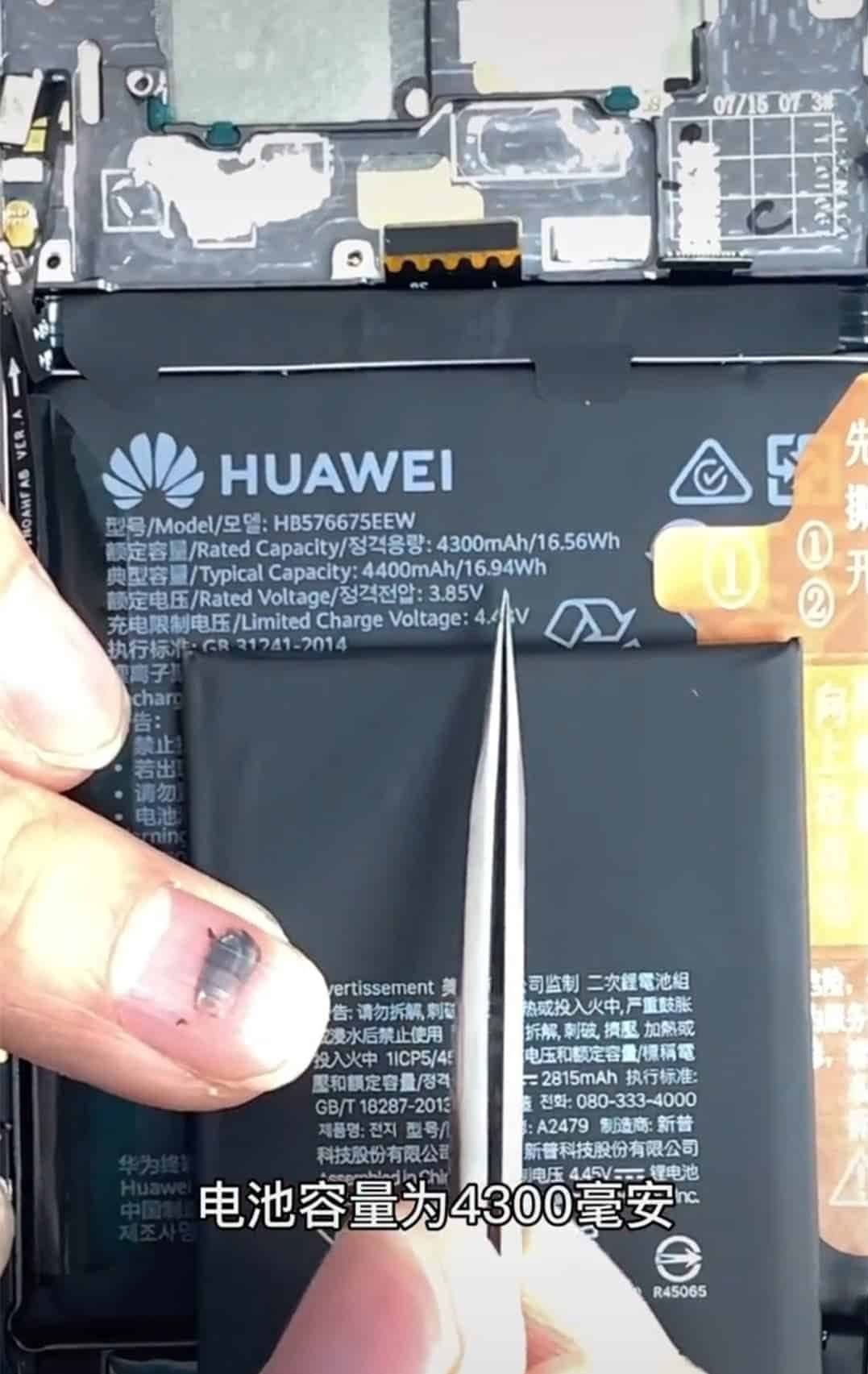 Huawei Mate 40 Pro Vs iPhone 12 Pro - disassembly comparison