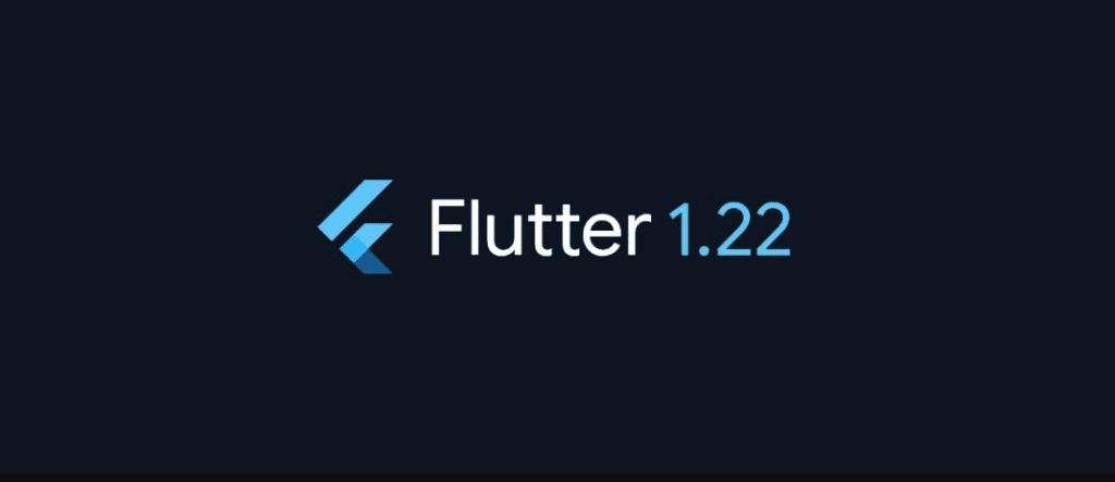 Google Flutter 1.22
