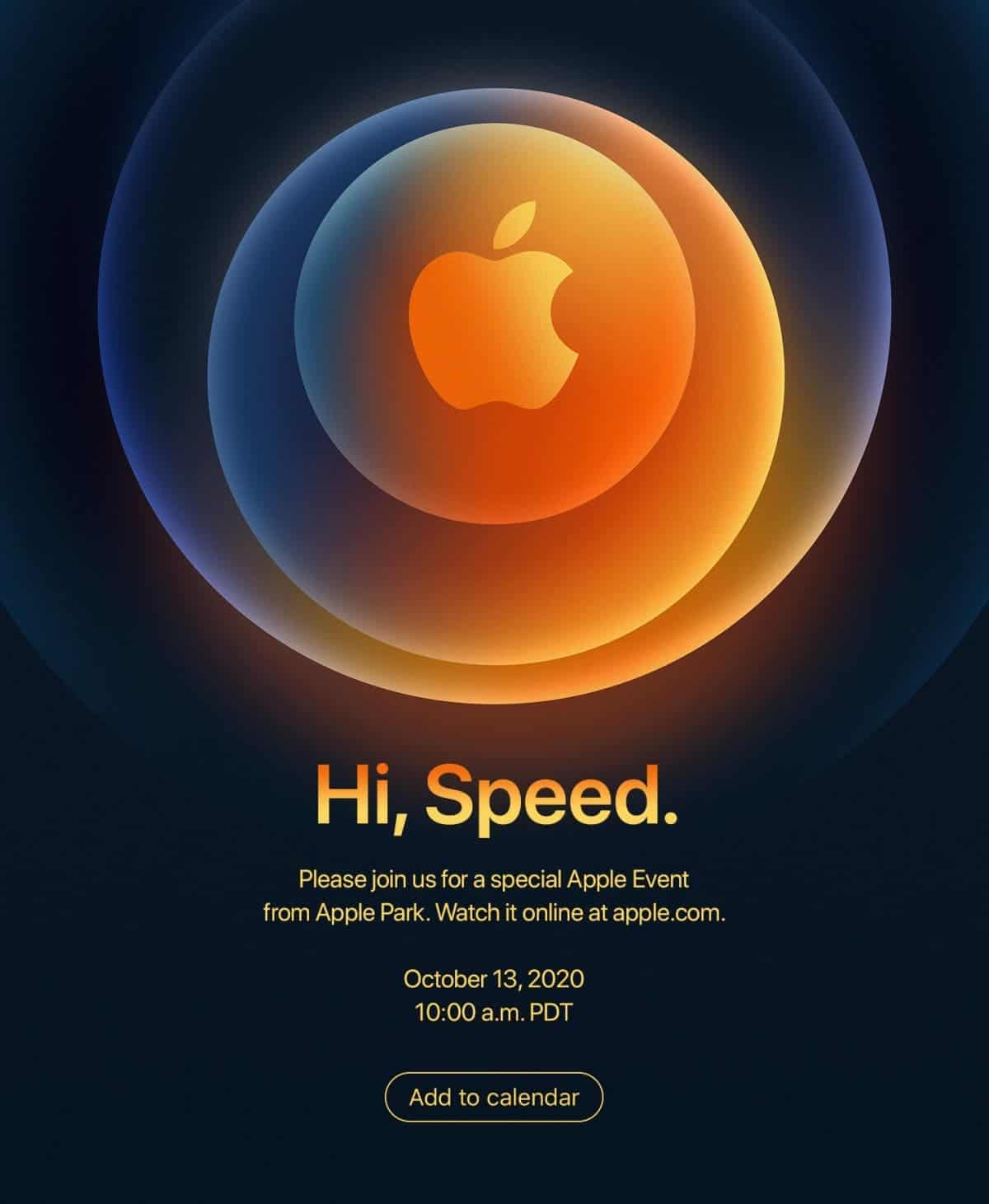 Apple iPhone 12 event