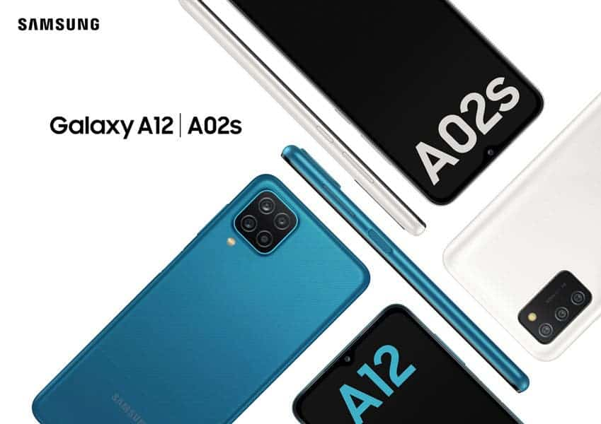 Samsung Galaxy A12, Galaxy A02s budget smartphones launched