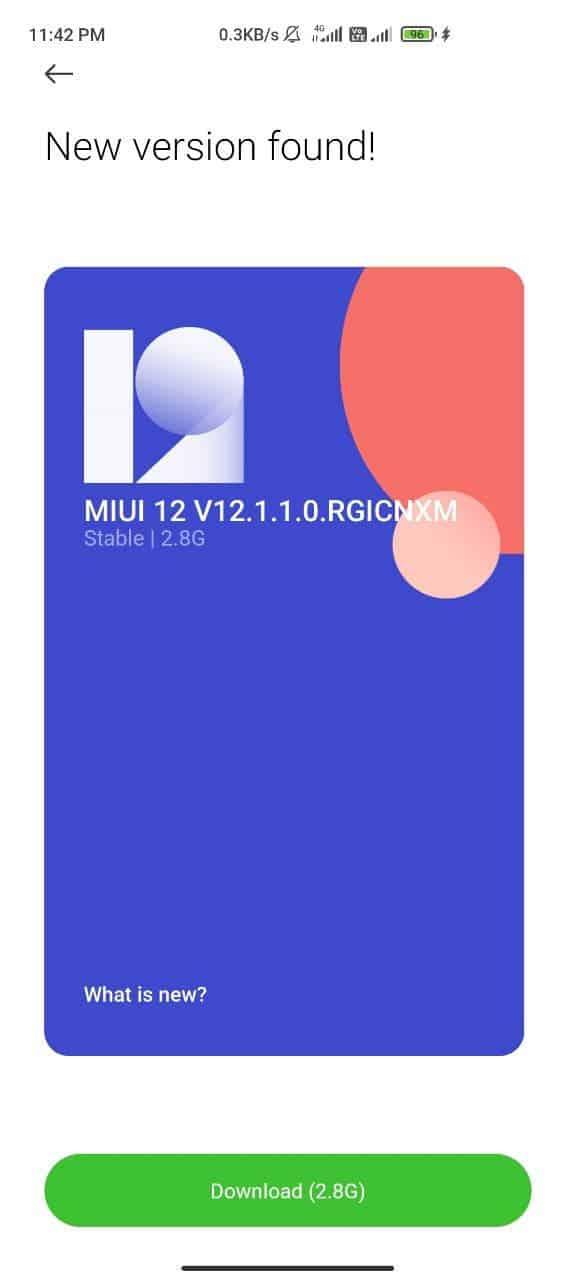 Redmi K30 5G MIUI 12