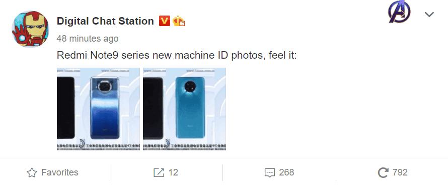 Redmi Note 9 series