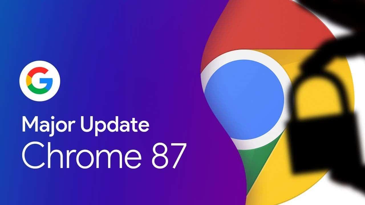 Chrome Actions Chrome 87