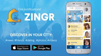 ZINGR app
