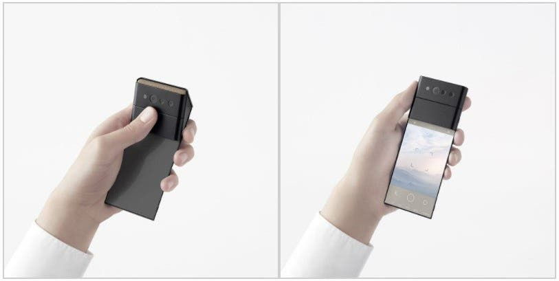 OPPO three-stage folding screen smartphone