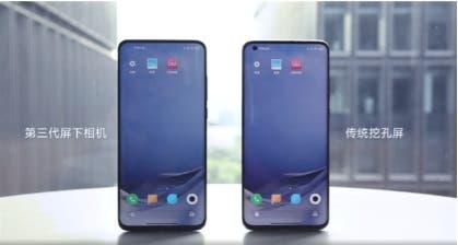 Xiaomi Mi 11 under-screen camera