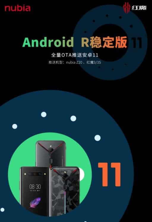 Nubia Z20 Android 11