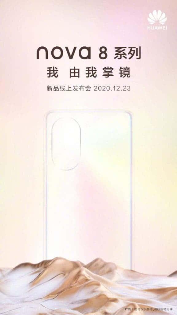 Huawei nova 8 series