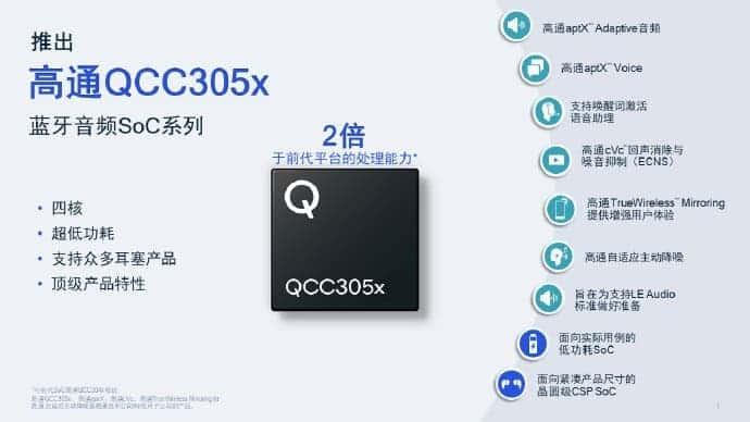 Qualcomm QCC305x SoC